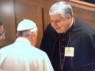 Bishop Paul J. Bradley Pope Francis