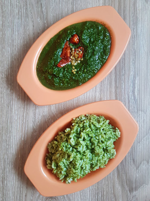 KEERAI MASIYAL - MASHED SPINACH|GREENS