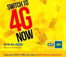 MTN 4G LTE Users Get Free MTN 5GB Data Reward