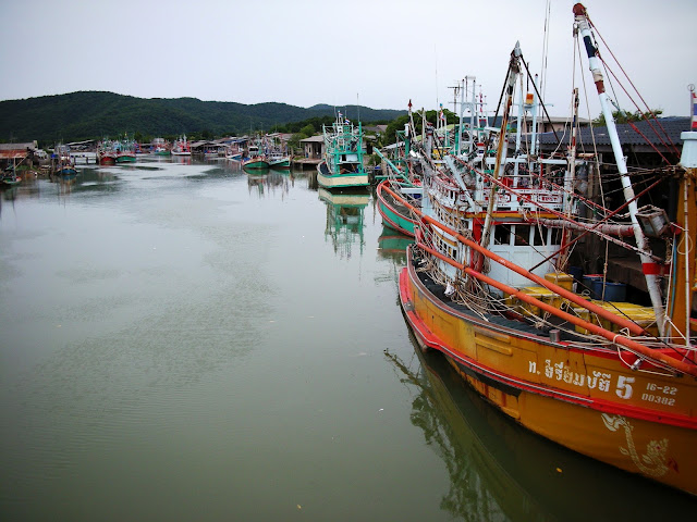 Chanthaburi Fishing Village, Thailand