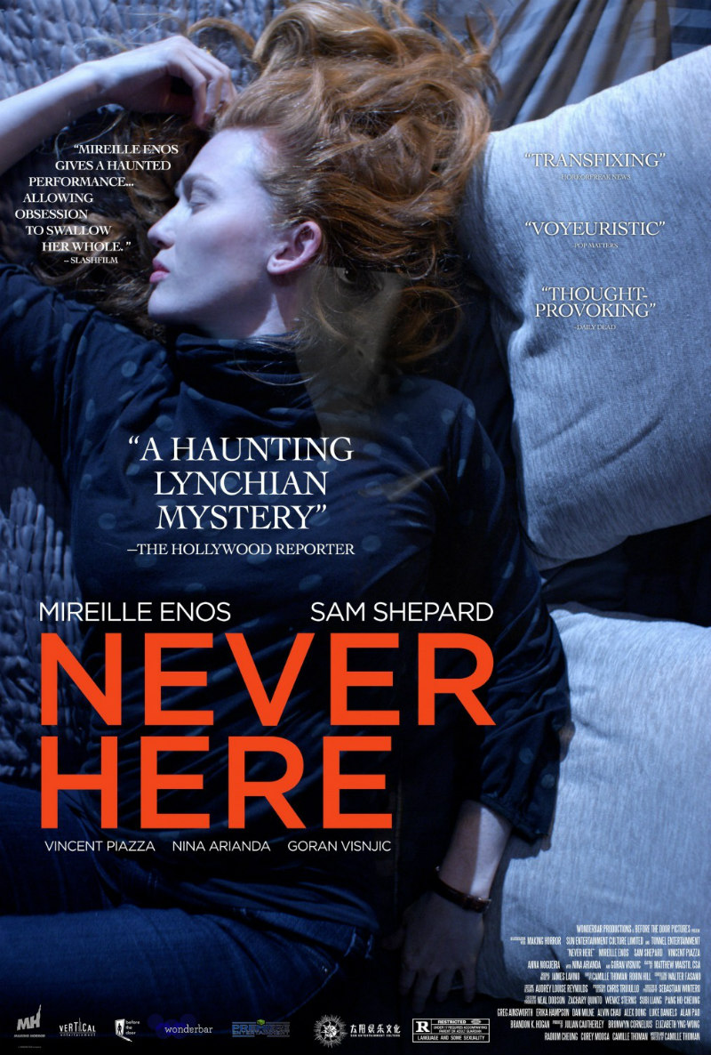 never here film poster