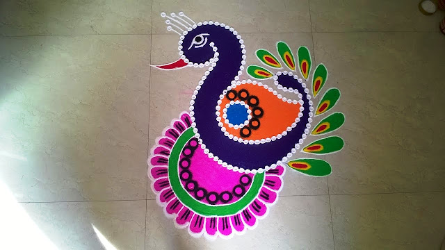Diwali Rangoli Designs No.4