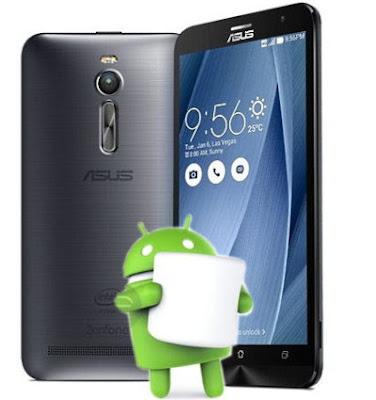 Asus Zenfone 2 ZE550ML 6.0 Marshmallow OTA Update