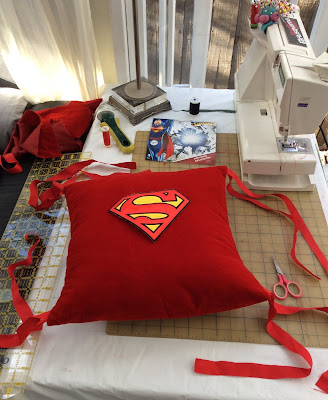 how to sew an easy pillow cover with ribbon ties stefanie girard