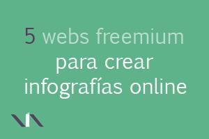 5 webs con modelo de negocio freemium para crear infografías en línea