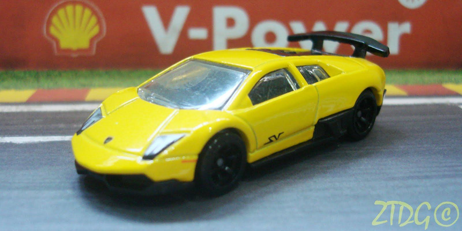 Zt S Dream Garage Hot Wheels Lamborghini Murcielago Lp670 4 Sv