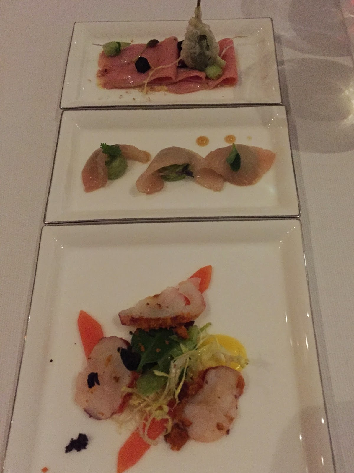 Social by Heinz Beck: selection of starters