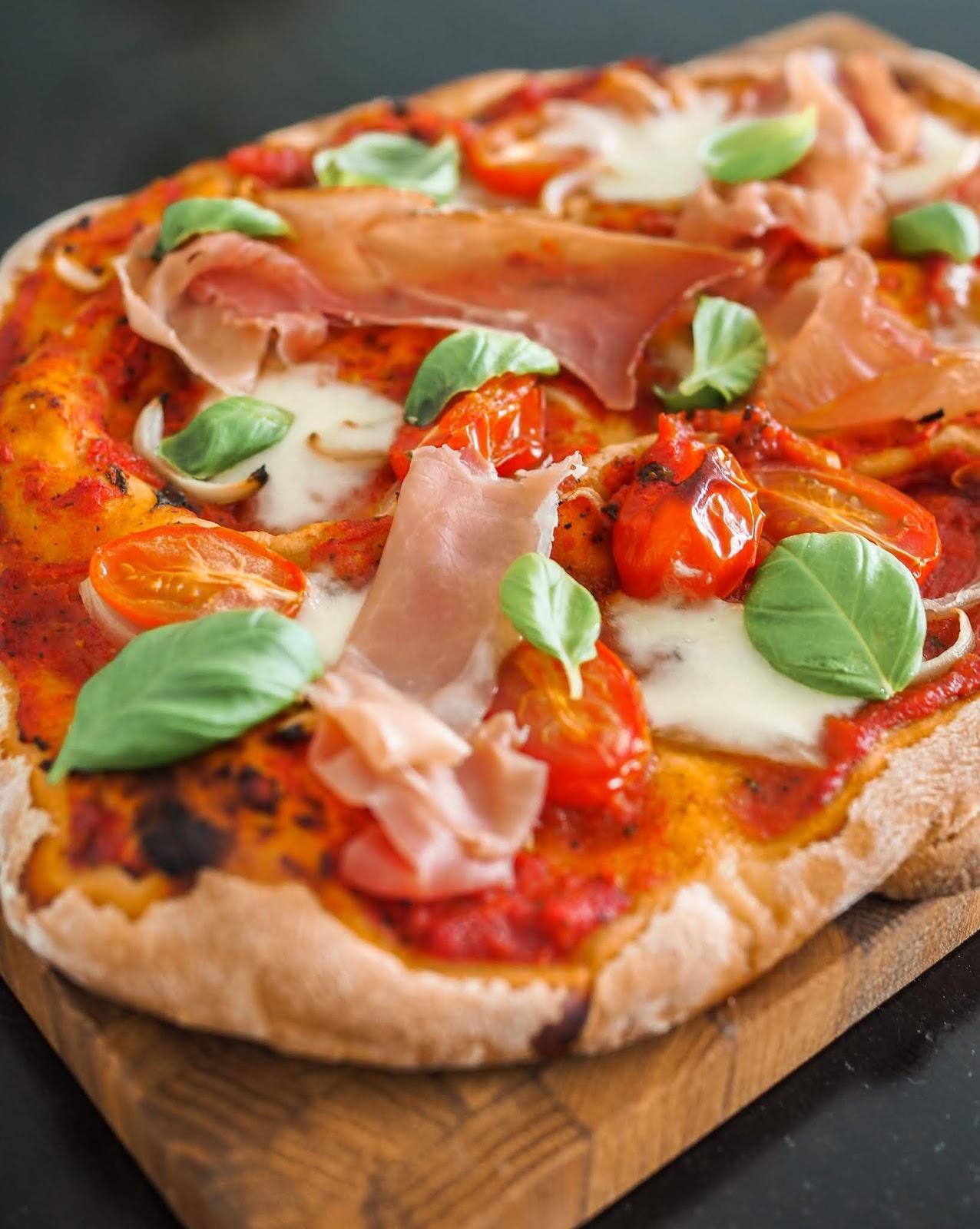 Täydellisen pizzan salaisuus