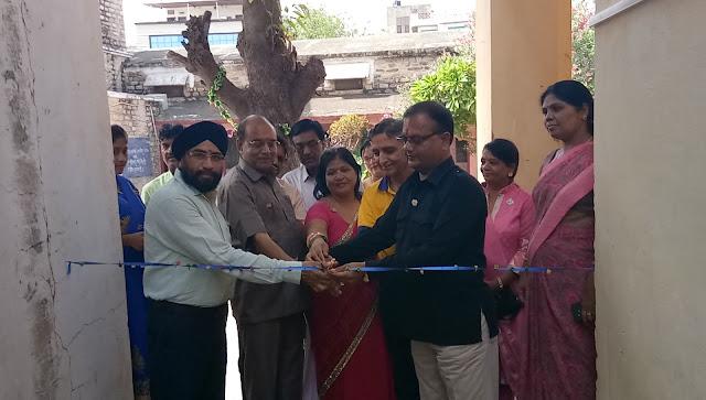 Ajmer, rajasthan, Central Girls School Ajmer, Lions Club Umang, Rajasthan News, अजमेर, लायंस क्लब उमंग, सेंट्रल गर्ल्स स्कूल, जलमंदिर