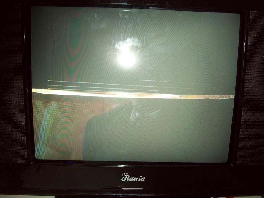 Reparacion tv rania imagen se ve la mitad falla en el for Mi televisor se escucha pero no se ve la imagen