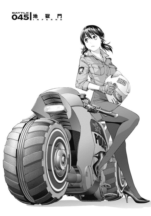 Battle 045 Ex-Arm, Shinya Komi