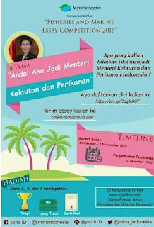 Lomba Menulis Essai 2016 Dari Mina Indonesia