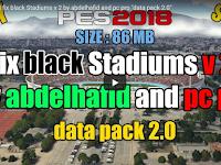 PES 2018 Black Stadium FIX V2 & PC Pro DLC 2.0
