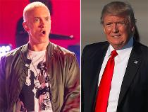 Eminem unleashes on Donald Trump: 'I'll make his whole brand go under'