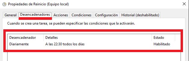 Windows: Programar apagado o reinicio automático