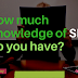 How much Knowledge of SEO, Do you have?