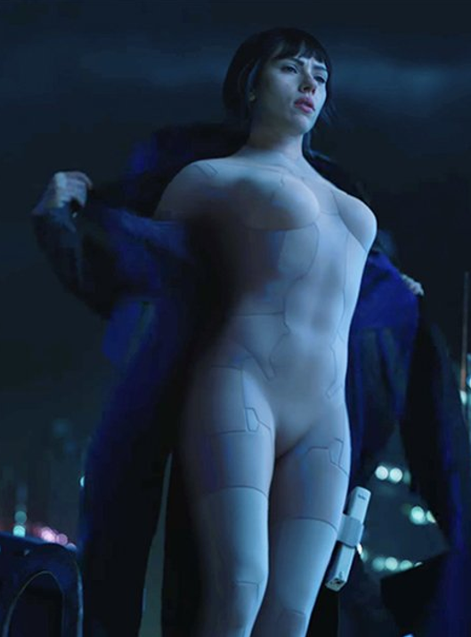 Johansson strips in the latest Ghost in the Shell trailer [Paramount]