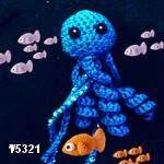 patron gratis medusa amigurumi, free amigurumi pattern jellyfish