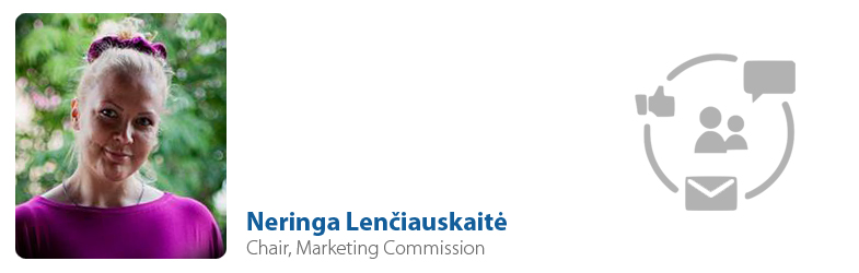 Neringa Lenčiauskaitė, IYF Chair of Marketing Commission