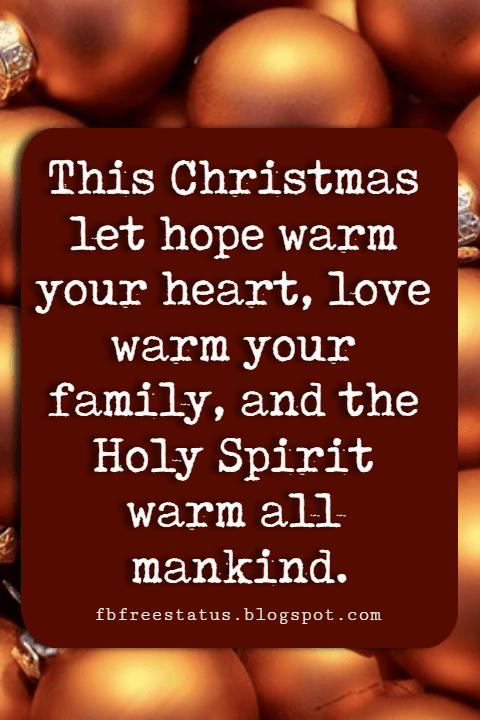 religious christmas card messages and images