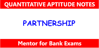 MATHS TRICK 10:- PARTNERSHIP NOTES WITH SOLUTION AND SHORTCUT