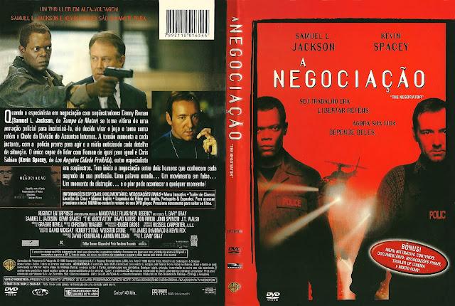 Capa DVD A Negociação