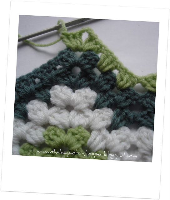 The Lazy Hobbyhopper How To Crochet Granny Ripple