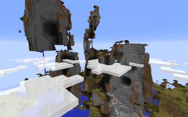 Bukit-bukit Ekstrim yang Indah, 7 Seed Minecraft Terbaik, Keren, dan Menarik