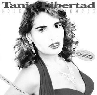 Foto de Tania Libertad en portada de disco