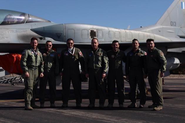 Έλληνας σμήναρχος ανακηρύχθηκε ως ο καλύτερος πιλότος του ΝΑΤΟ