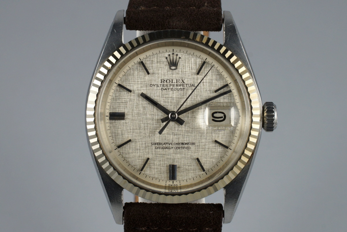 hong kong watch fever ������ vintage time � rolex 1601 datejust