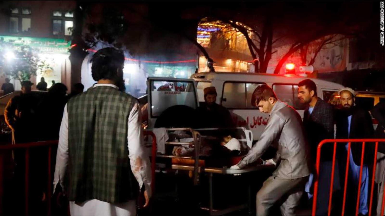Ledakan teror menewaskan lebih dari 50 orang, puluhan luka di ibukota Afghanistan