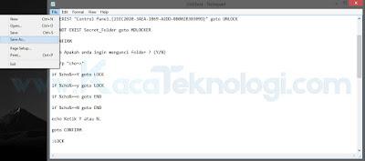 Bagaimana cara memberi password pada folder dengan CMD pada windows ? Pada kali ini kita akan memberi password pada sebuah folder tanpa menggunakan software atau aplikasi tambahan. Kita disini hanya perlu beberapa baris script saja dan setelah itu kita bisa menyimpannya sebagai sebuah file untuk mengunci folder yang dimaksud. Adapun cara memberi password pada folder menggunakan CMD antara lain seperti berikut...