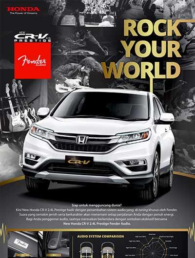 Honda CRV Baru Bandung 2016