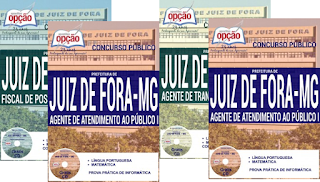 Apostila concursos Prefeitura de Juiz de Fora (PJF) Minas Gerais-MG.