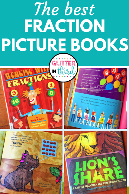 best fraction math picture books