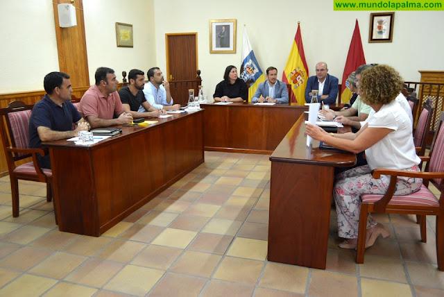El Cabildo aborda con el Ayuntamiento de la Villa de Mazo el impulso de varios proyectos