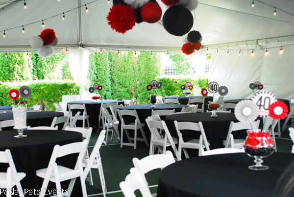 decorating ideas for 40th birthday party elitflat