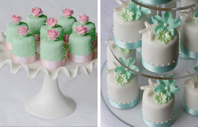 pink and green bridal shower ideas, pink and green cakes