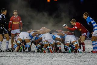 Ni la nieve pudo con Argentina XV