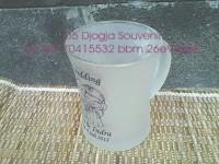Souvenir  Gelas seksi dove , souvenir pernikahan mewah