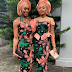 2019 BBN Housemate,Mike's wife, Perri ,seen Twinning with Cynthia,Ebuka's wife in Ankara