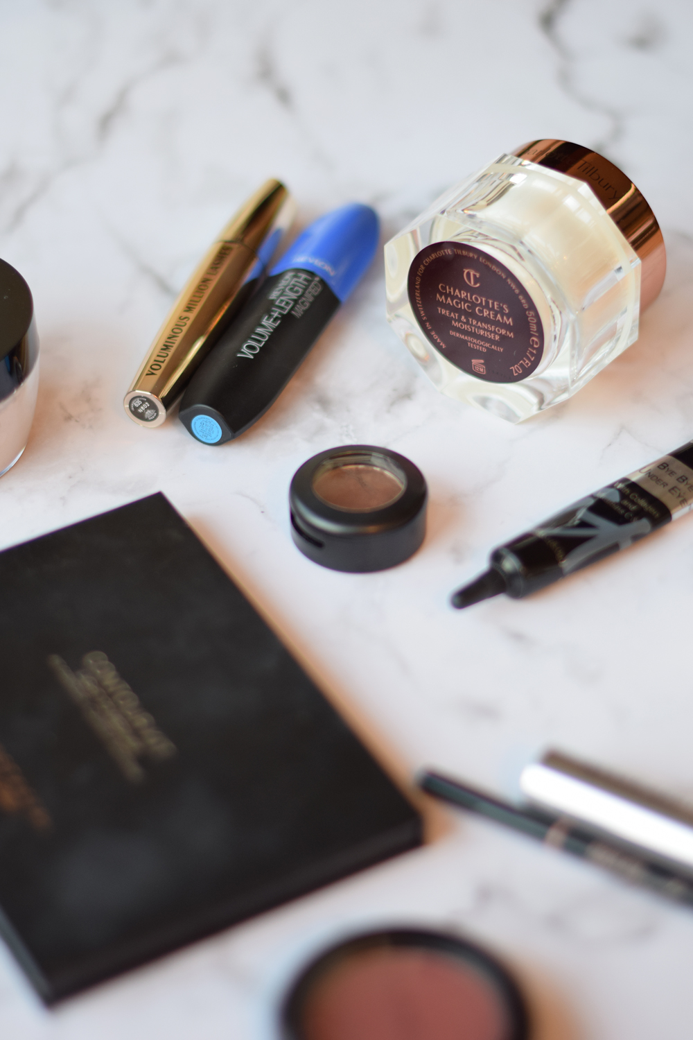 Favorite morning make up products.