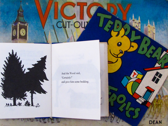 Victory Cut-Out Book/Teddy Bear Frolics and The Hedgehog's Waistcoat