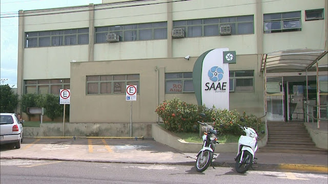 Serviço Autônomo de Água e Esgoto de Barretos, SP (Foto: Reprodução/EPTV)