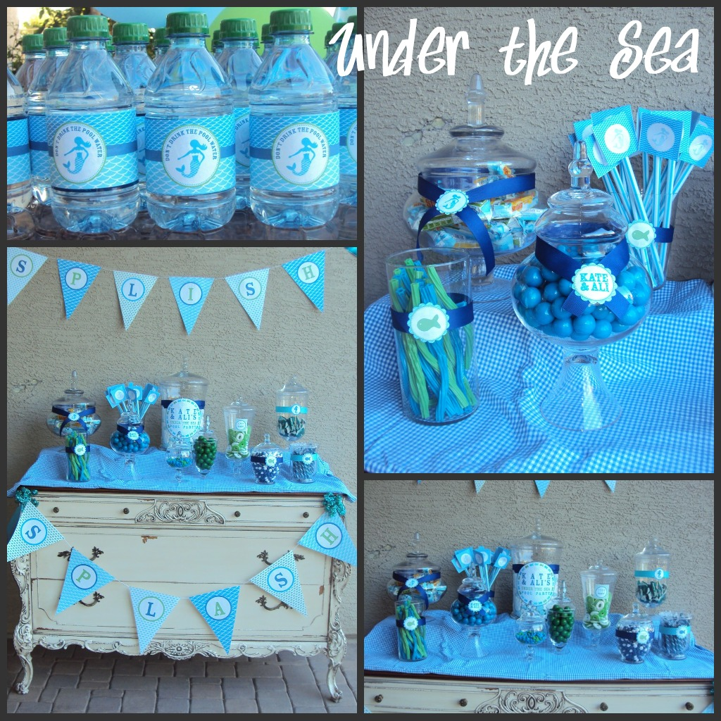 A Mermaid Under The Sea Party
