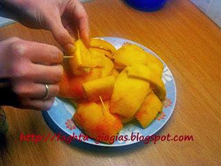 Πορτοκάλι φλούδες γλυκό του κουταλιού - από «Τα φαγητά της γιαγιάς»