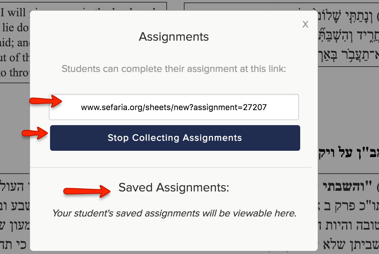 these three upgrades to sefaria s already powerful platform the redesigned user friendly interface the export to google drive and the assignments