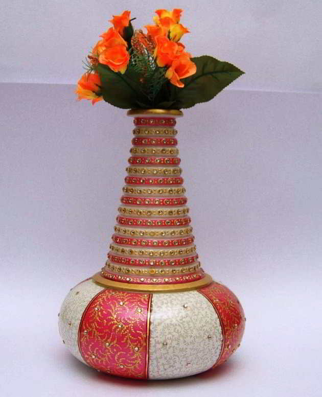 Model Vas Bunga Unik Minimalis