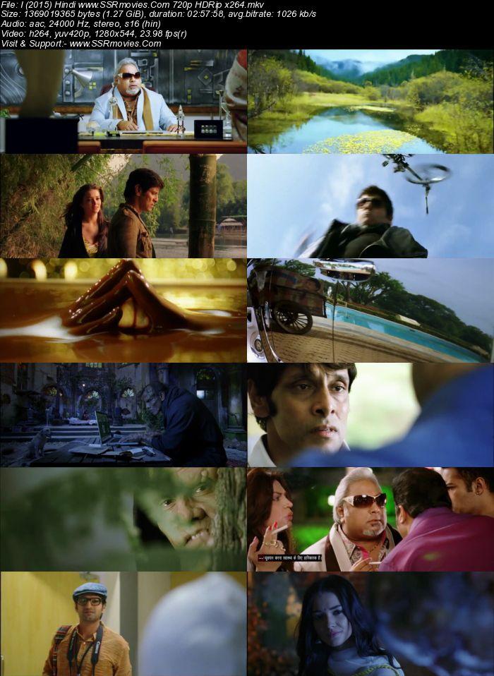 I (2015) Hindi 480p WEB-DL x264 550MB Movie Download